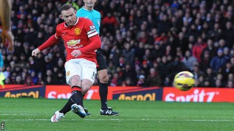 Wayne Rooney, Man Utd