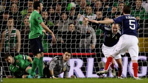 Scotland beat Northern Ireland 3-0 when the teams last met