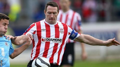 Former Derry City captain Barry Molloy