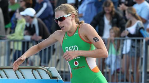 Aileen Reid ended her season on an impressive note as she finished fifth in the World Triathlon Series's concluding event in Edmonton in Canada