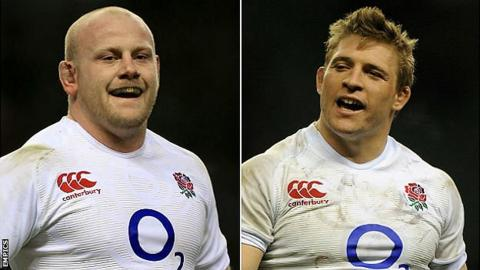 Dan Cole (left) and Tom Youngs