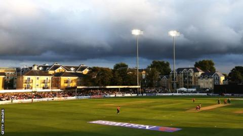 Essex's County Ground at Chelmsford