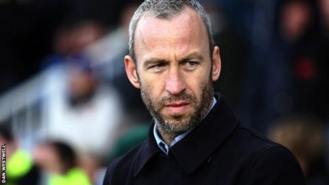 Notts County manager Shaun Derry