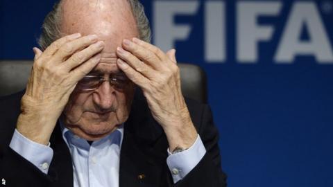 Fifa president Sepp Blatter has been taking soundings from advisors