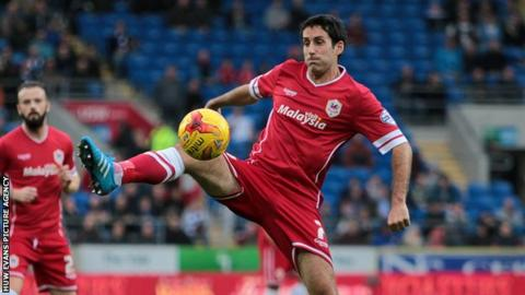Peter Whittingham in action for Cardiff City