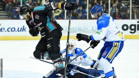 Kevin Westgarth in action against Coventry earlier this season