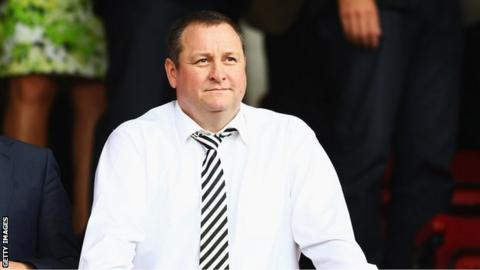 Rangers shareholder Mike Ashley