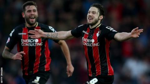 Harry Arter scores for Bournemouth
