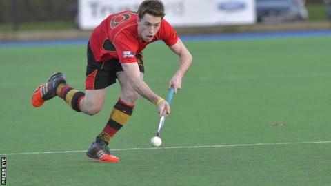Stephen Dowds was on target twice for Banbridge against Cookstown