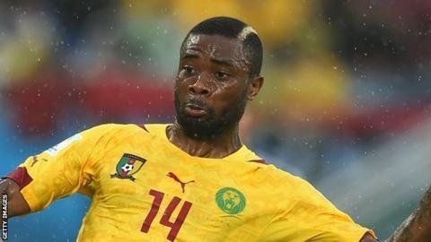 Cameroon's Aurelien Chedjou