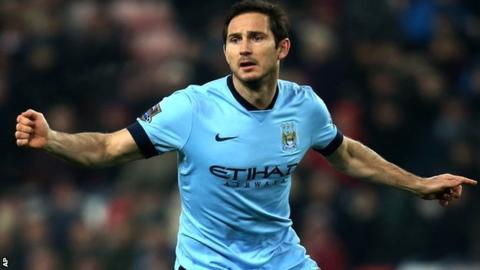 Frank Lampard Man City Stay Prompts New York Fans Outrage Bbc Sport