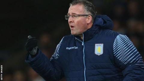 Paul Lambert, Aston Villa manager