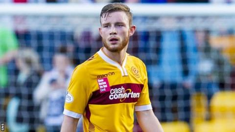 O'Brien has made 14 appearances since joining Motherwell on-loan.