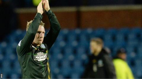 Celtic attacker Kris Commons