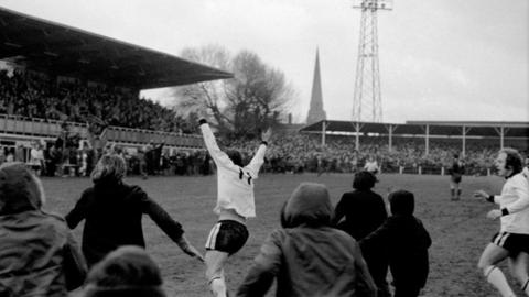 Hereford United's finest hour - Ronnie Radford's famous FA Cup thunderbolt