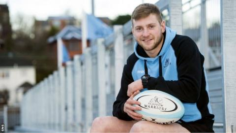 Glasgow Warriors stand-off Finn Russell