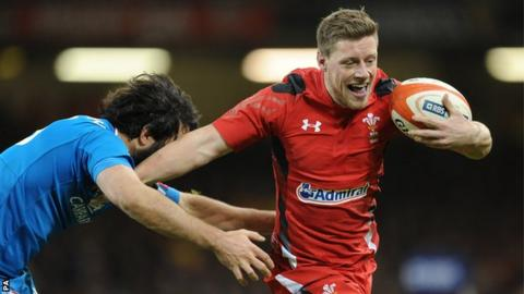 Fly-half Rhys Priestland has won 32 caps for Wales