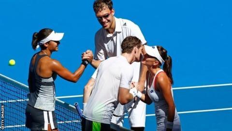 Heather Watson, Andy Murray, Jerzy Janowicz and Agnieszka Radwanska