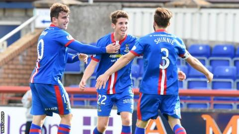 Inverness beat St Johnstone 2-1 at the Caledonian Stadium in September