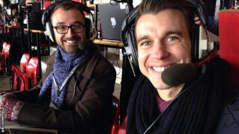 Matt Bloomfield with Brenner Woolley