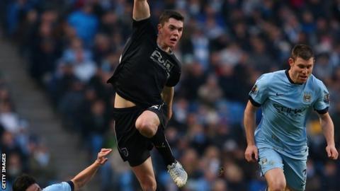 Burnley's Michael Keane