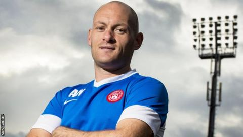 Alex Neil has taken Hamilton to third place in the Scottish Premiership