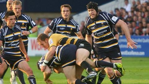 Worcester v Cornish Pirates