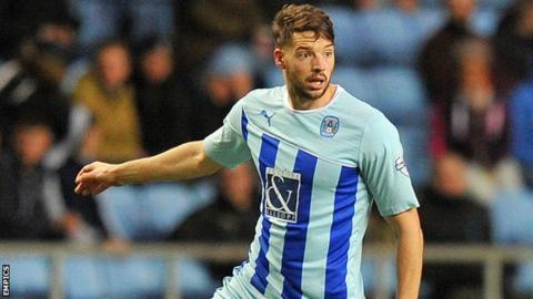 Coventry City defender Aaron Martin