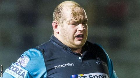 Glasgow prop Mike Cusack