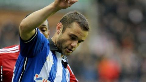 Shaun Maloney in action for Wigan