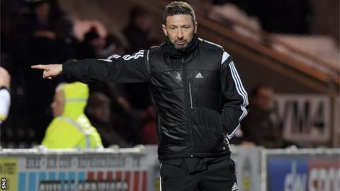 Derek McInnes has led his side to eight straight Premiership victories