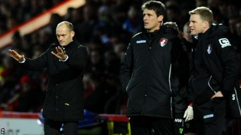 Alex Neil and Eddie Howe