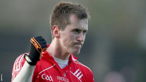 Forward Cillian O'Connor starred for Ulster University