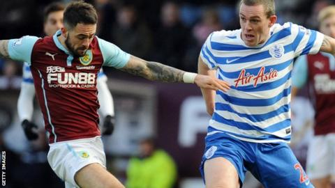 Danny Ings and Richard Dunne