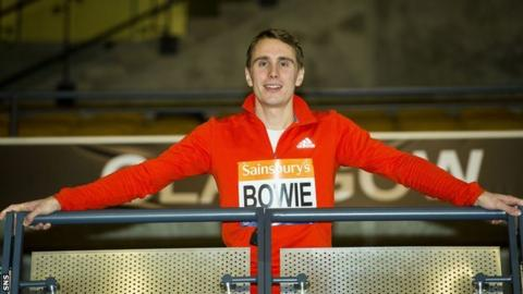 Bowie was part of the Scotland 4x400m relay team that finished fifth at the Commonwealth Games in Glasgow