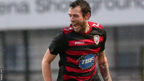 Gary Browne moved from Lisburn Distillery to Linfield in 2011