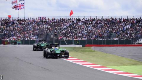 The 2014 British Grand Prix at Silverstone