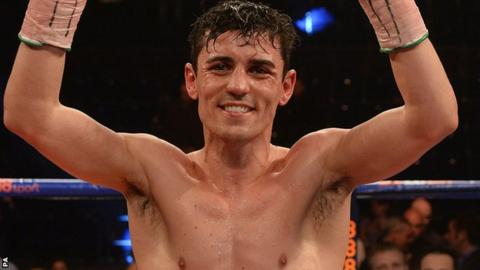 Lightweight boxer Anthony Crolla