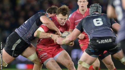Scarlets centre Steffan Hughes is the Wales Under-20 captain