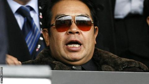 Former Birmingham City owner Carson Yeung