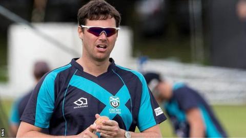 Scotland assistant coach Craig Wright