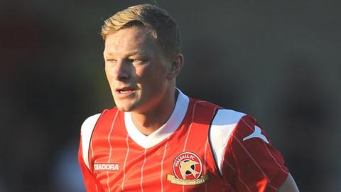 Walsall midfielder Sam Mantom