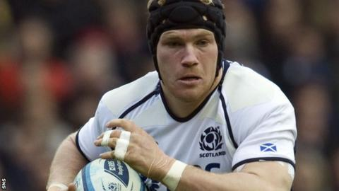 Rennie won 20 caps for Scotland