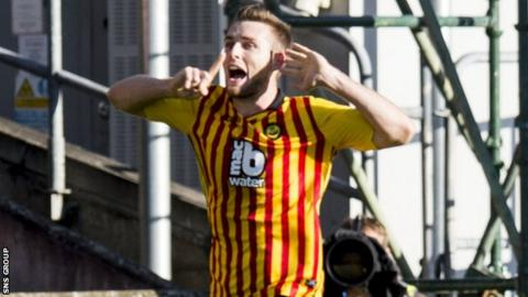 Partick Thistle defender Stephen O'Donnell