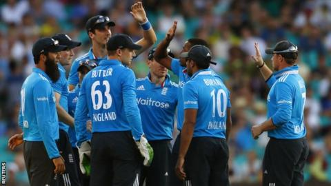 England lost to Australia by three wickets