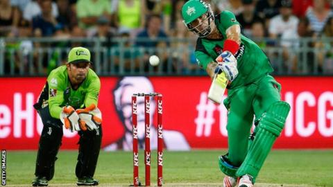 Kevin Pietersen playing for Melbourne Stars