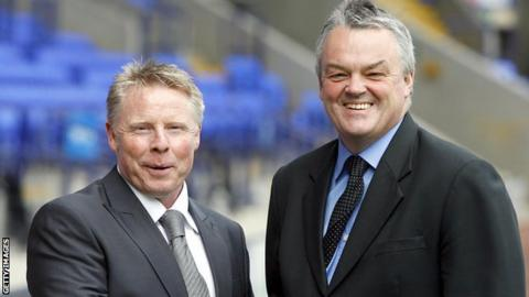Sammy Lee (left) and Phil Gartside