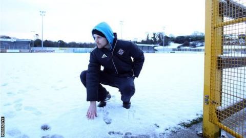 Ballinamallard's pitch at Ferney Park was deemed unplayable on Saturday morning