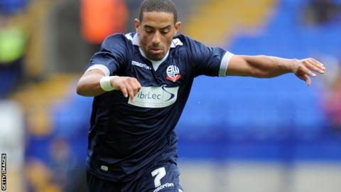 Liam Feeney scored his third goal of the season for Bolton Wanderers.
