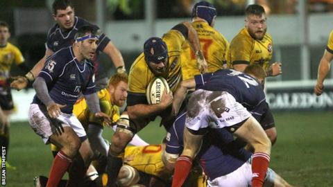 Cornish Pirates vs London Scottish